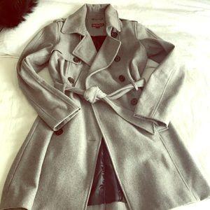 Dark gray Merona pea coat style size small